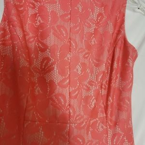 American Living Dresses - American Living Pink and  Cream dress. Size 4